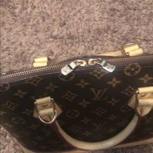 Authentic Louis Vuitton Alma Satchel